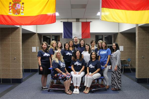 Teachers in the Lake Park World Languages Department