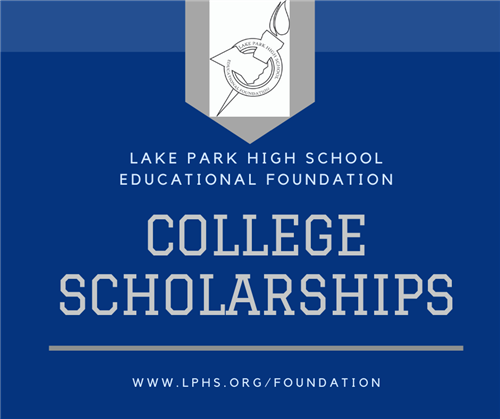 LPEF College Scholarships graphic